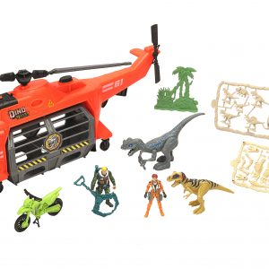 Dino Valley - BIG Jaw-Copter Playset (542057)