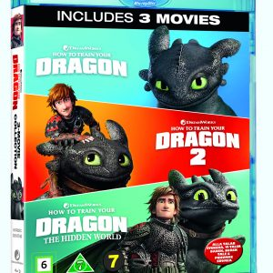 How To Train Your Dragon 1-3 Box