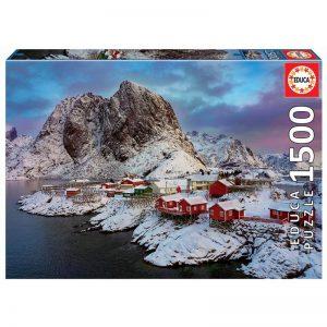 Educa - Puzzle 1500 - Lofoten, Norway (017976)