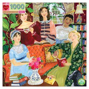 eeBoo - Palapeli - Jane Austenin kirjakerho, 1000 kappaletta
