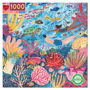 eeBoo - Puzzle - Coral Reef, 1000 pc (EPZTCRR)