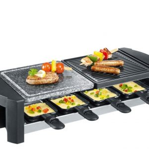 Severin - Raclette RG 2683/RG 9645 1400 Watt - Black (494062)