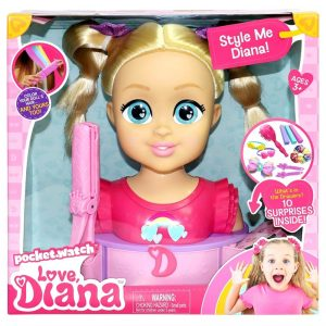 Love Diana - Deluxe Styling Head (79851)