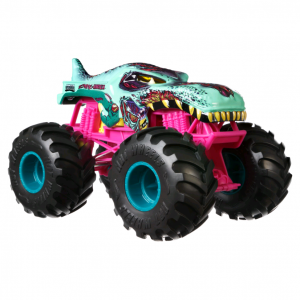 Hot Wheels - Monster Trucks 1:24 - Zombie-WRex Vehicle (GCX24)