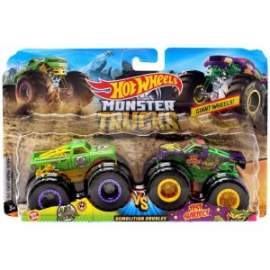 Hot Wheels - Monter Trucks 2 pack - A51 Patrol vs. Test Subject (GJF67)