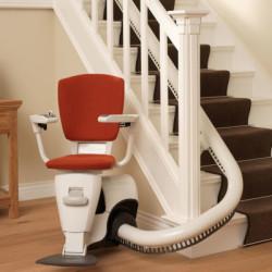 Stigus Swing  stolelift til kurvede - og lige trapper (uden skinne)