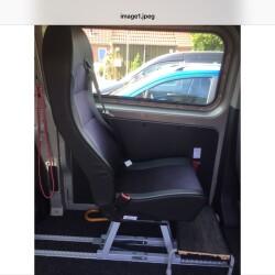 Sæde til Handicapbus