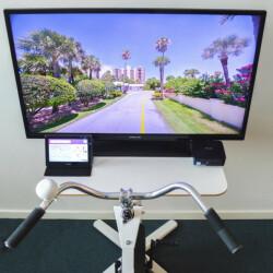 Aktivitetscykel BikeAround med Streetview