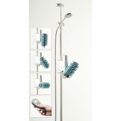 Automatisk vaskebørste til brusebadet
