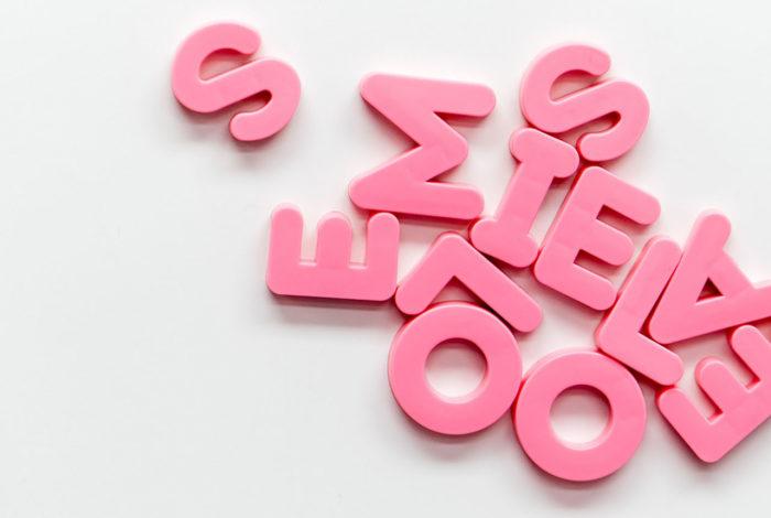Rosa bokstaver