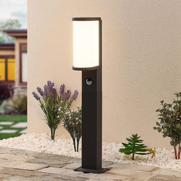 Lucande Jokum-LED-pylväsvalo, IP54,60 cm