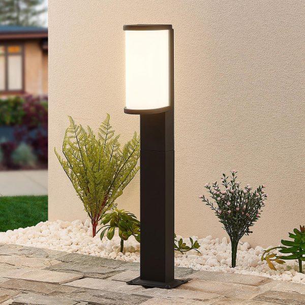 Lucande Jokum -LED-pylväsvalo, IP65, 60 cm