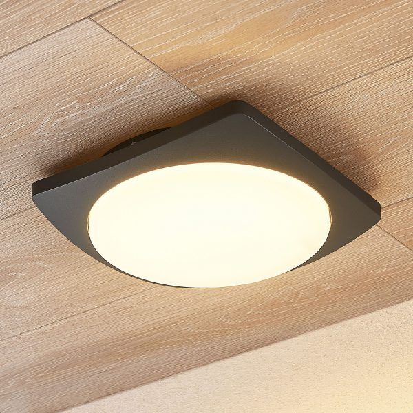 Lucande Gesar -LED-ulkokattovalaisin