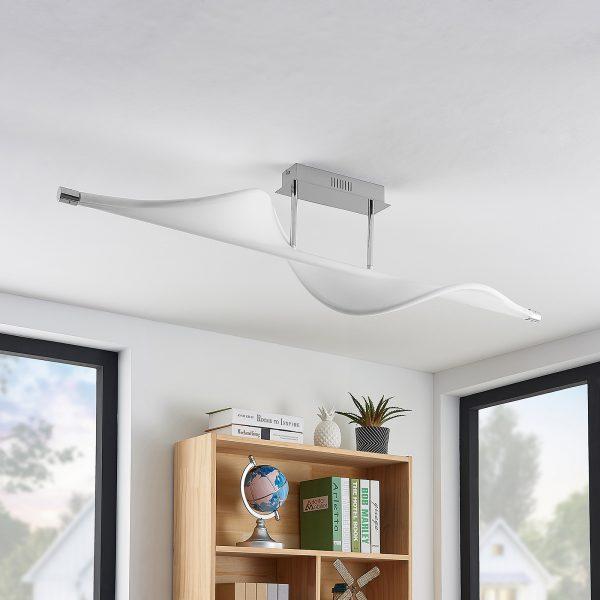 Lucande Edano -LED-kattovalaisin himmennettävä