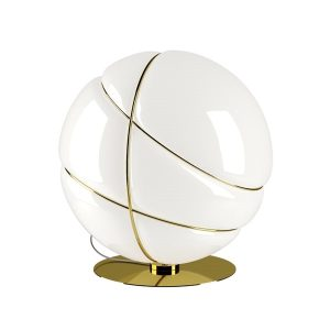 Fabbian Armilla F50 Table Lamp Gold