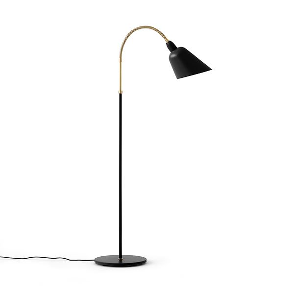 &tradition Bellevue AJ7 Floor Lamp Black & Brass