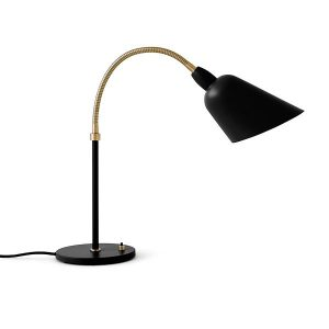 &tradition Bellevue AJ8 Table Lamp Black & Brass