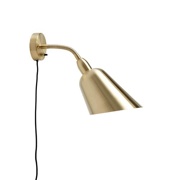 &tradition Bellevue AJ9 Wall Lamp Brass