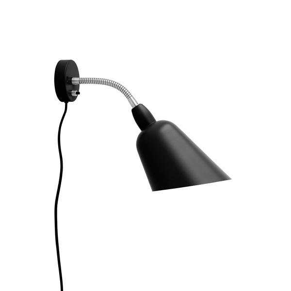 &tradition Bellevue AJ9 Wall Lamp Matt Black