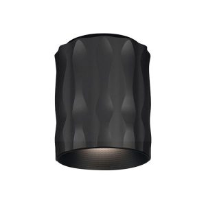 Artemide FIAMMA 15 LED Ceiling Lamp Black