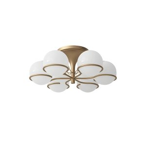 Astep Model 2042/6 Ceiling Light Champagne