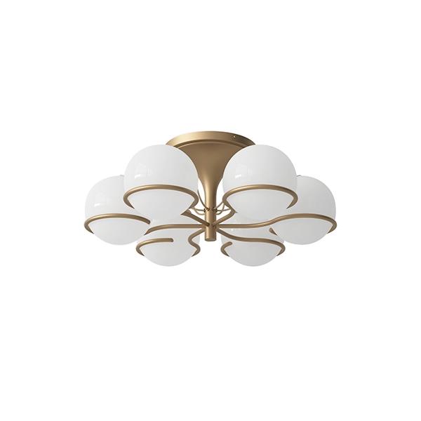 Astep Model 2042/6 Ceiling Light Champagne