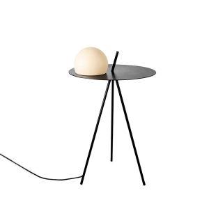 Estiluz Circ Floor Lamp Black