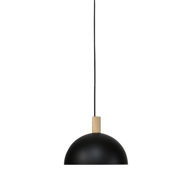 Handvärk Studio Pendant Ø34 Black & Brass