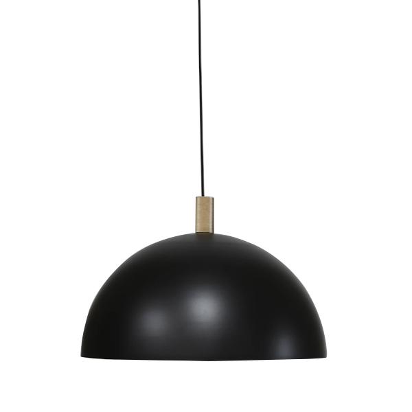 Handvärk Studio Pendant Ø50 Black & Brass