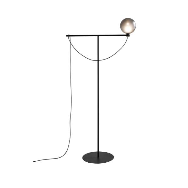 Handvärk Globe Floor Lamp Black