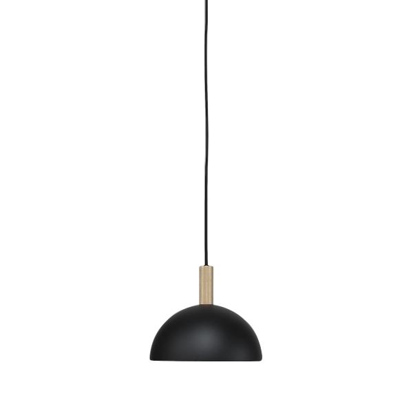 Handvärk Studio Pendant Ø25 Black & Brass