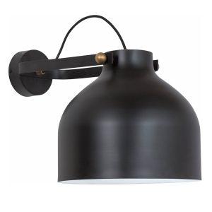 Konsthantverk Kanna Wall Light - Raw Brass & Matt Black