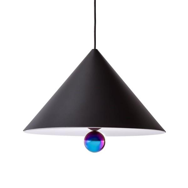 Petite Friture CHERRY LARGE Pendant Lamp Black & Rainbow