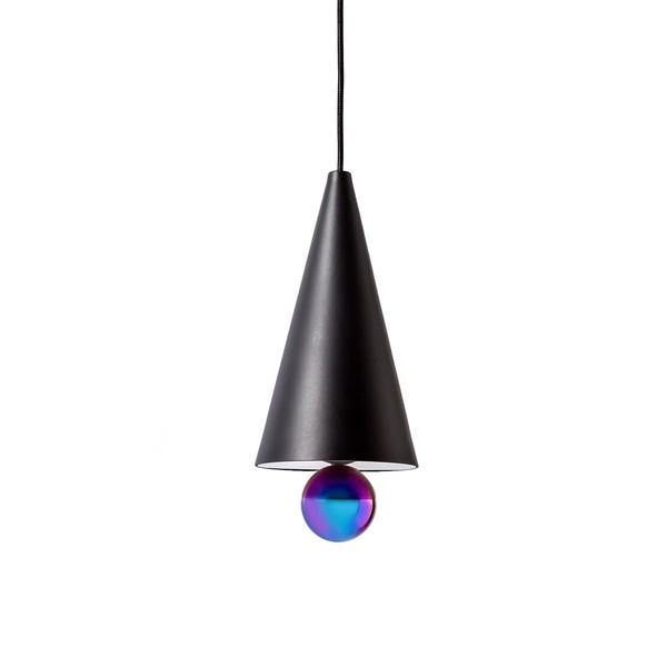 Petite Friture CHERRY SMALL Pendant Lamp Black & Rainbow