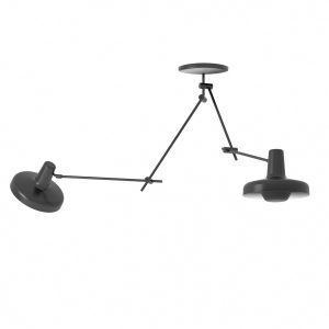 Grupa Products Arigato Double Ceiling Lamp Black