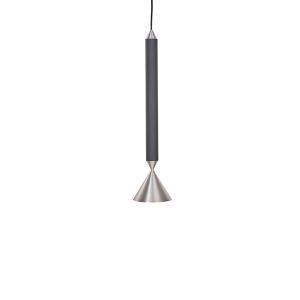 Pholc APOLLO 39 Pendant Black/Polished Aluminium