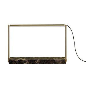 RestartMilano Stargate Table Lamp Brass & Marble