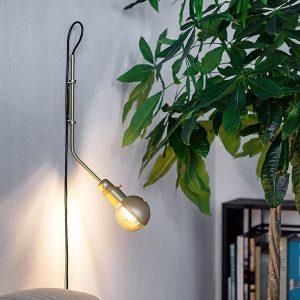 RestartMilano Wall Lamp Brass Short