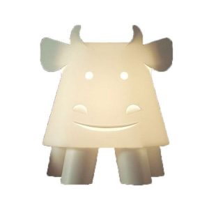 Zoolight Cow Childrens Table Lamp