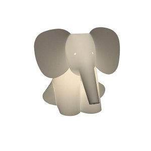 Zoolight Elephant Childrens Table Lamp