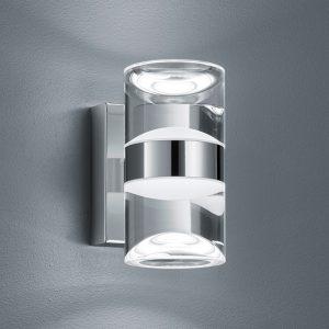 Ylös-/alasvalo kylpyhuoneen LED-seinälamppu Ria