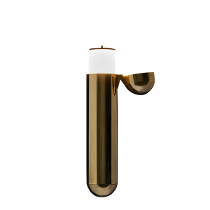 ISP Wall Lamp Brass Opening Right