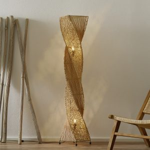 Korkealuokkainen jalkalamppu Marco, 150 cm