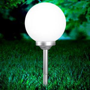 Pyöreä aurinkokäyttöinen lamppu Celyn 30 cm