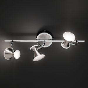 3-Lamppuinen LED-kattovalaisin Duke