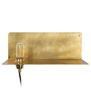 FRAMA 90° Wall Lamp Brass
