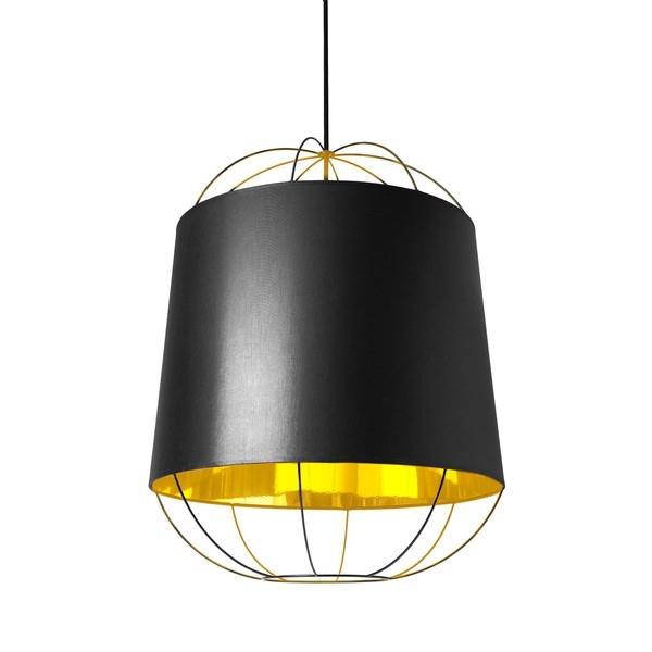Petite Friture LANTERNA MOYEN/MEDIUM Pendant Lamp Black & Gold