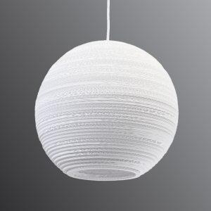 Pyöreä Ball-riippuvalaisin - Ø 36 cm