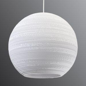 Pyöreä Ball-riippuvalaisin - Ø 45 cm