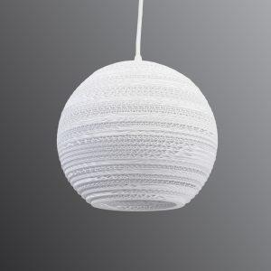 Pyöreä Ball-riippuvalaisin - Ø 26 cm